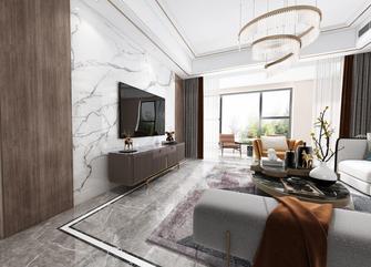 20万以上140平米四室两厅轻奢风格客厅设计图