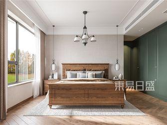 120平米美式风格卧室欣赏图