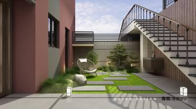 豪华型140平米别墅中式风格阳台图