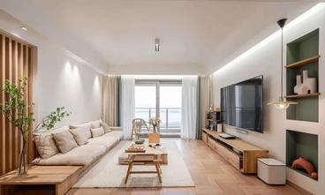经济型120平米四室两厅日式风格客厅装修图片大全