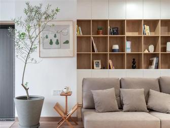 5-10万120平米三室两厅日式风格书房装修效果图