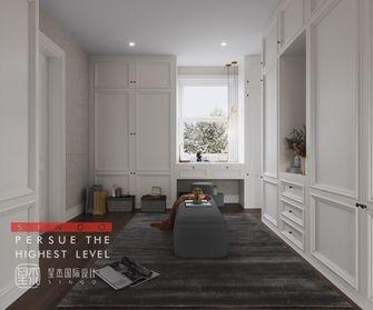 20万以上140平米别墅法式风格衣帽间装修案例