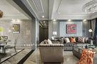 140平米三室一厅美式风格走廊图片