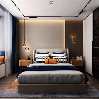 140平米轻奢风格卧室图片