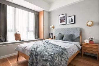 120平米三室一厅北欧风格卧室图片大全