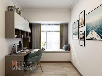 10-15万110平米四室两厅现代简约风格书房图