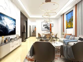 富裕型140平米四室三厅现代简约风格客厅设计图