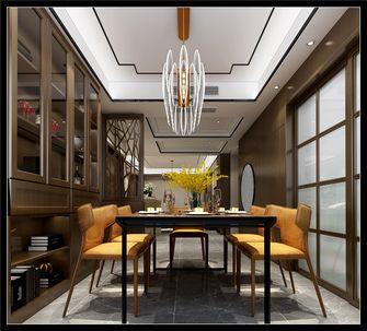 20万以上130平米三室两厅中式风格餐厅装修图片大全
