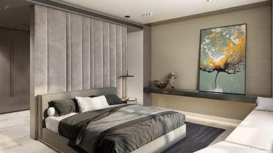140平米四法式风格卧室设计图
