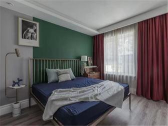 富裕型80平米田园风格卧室欣赏图