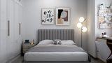 富裕型80平米现代简约风格卧室装修案例