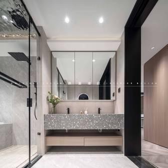 140平米三室两厅混搭风格卫生间欣赏图