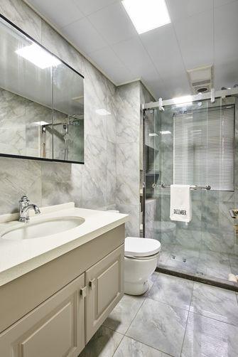 豪华型140平米三室一厅欧式风格卫生间装修效果图