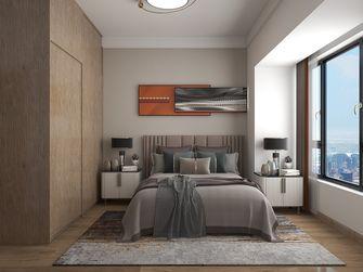 110平米三室一厅现代简约风格卧室图