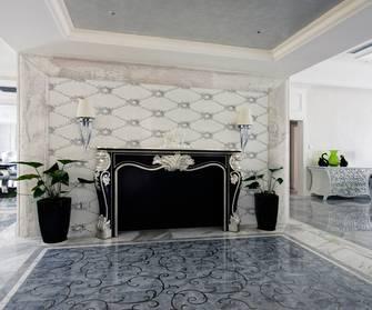 20万以上140平米别墅新古典风格走廊效果图