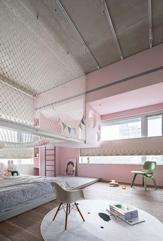 140平米三室三厅工业风风格青少年房欣赏图