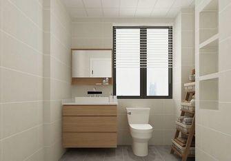 90平米三室三厅日式风格卫生间欣赏图