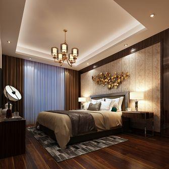 富裕型140平米四室三厅混搭风格卧室设计图