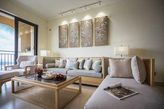 三室两厅中式风格客厅图