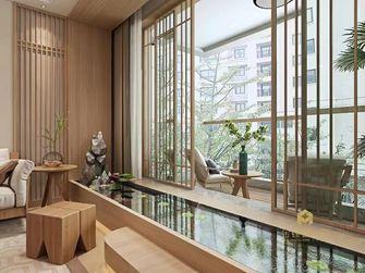 富裕型120平米三室两厅日式风格阳台装修图片大全
