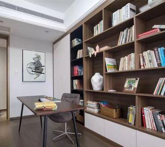 经济型110平米三室一厅现代简约风格书房装修效果图