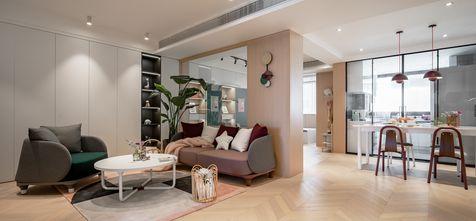 15-20万120平米三室两厅北欧风格客厅装修图片大全