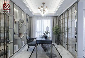 富裕型140平米四室两厅北欧风格书房欣赏图