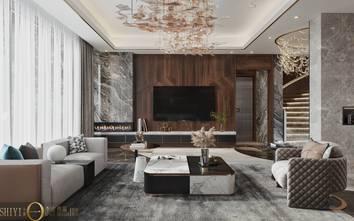 20万以上140平米别墅轻奢风格客厅效果图