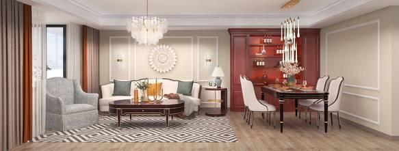 20万以上120平米欧式风格客厅装修案例