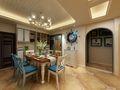 20万以上130平米三室两厅地中海风格餐厅装修案例