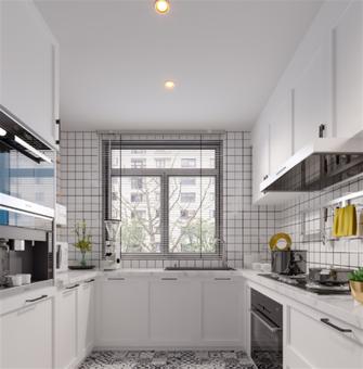 80平米三室两厅地中海风格厨房装修图片大全