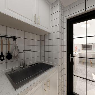 一室一厅现代简约风格厨房装修案例