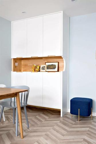 5-10万70平米三室一厅北欧风格餐厅装修案例