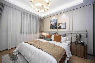 富裕型70平米公寓轻奢风格卧室装修图片大全