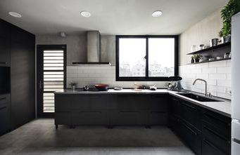 富裕型140平米四室两厅工业风风格厨房图