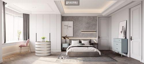 豪华型140平米别墅美式风格卧室图片