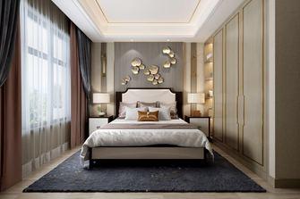 豪华型140平米三室两厅中式风格卧室装修图片大全