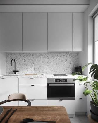 富裕型30平米以下超小户型北欧风格厨房欣赏图