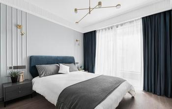 130平米四室两厅北欧风格卧室设计图