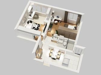 60平米一室两厅现代简约风格其他区域装修图片大全