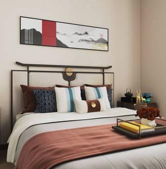 富裕型130平米三室两厅中式风格卧室图片