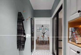 富裕型90平米三室两厅北欧风格玄关设计图