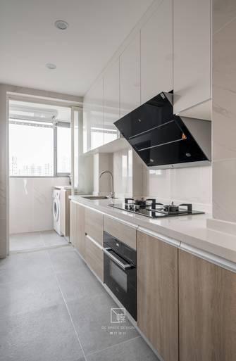 80平米三室一厅日式风格厨房装修效果图