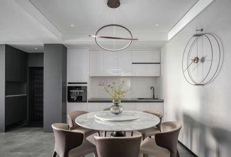 20万以上140平米三室两厅现代简约风格餐厅设计图