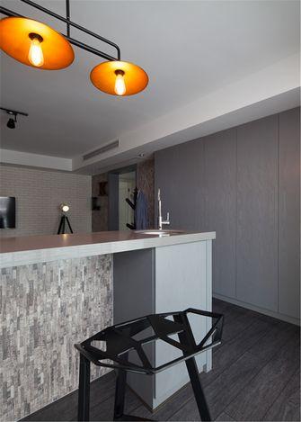 富裕型70平米北欧风格厨房欣赏图