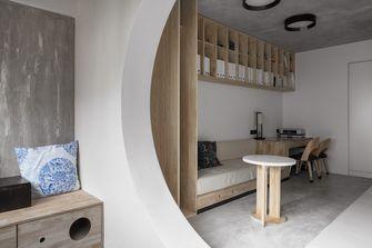 富裕型70平米一室一厅北欧风格卧室装修案例