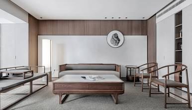 富裕型140平米三室两厅中式风格客厅效果图
