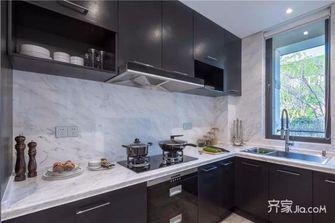 10-15万三室两厅轻奢风格厨房图