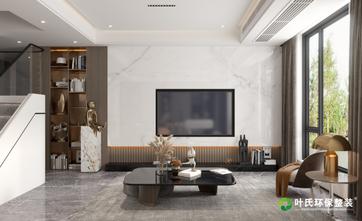 140平米复式现代简约风格客厅图片大全