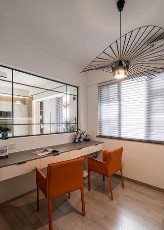 10-15万90平米三室两厅现代简约风格书房装修图片大全